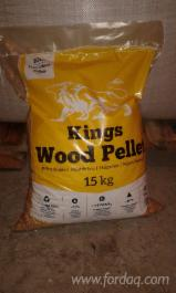 Firewood - Chips - Pellets Supplies White DIN+ quality 6mm pellets BB/15kg bags