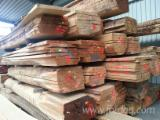 Hardwood  Unedged Timber - Flitches - Boules - KD Oak Boules, 52 mm Thick