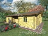 Wood Houses - Precut Timber Framing Spruce Picea Abies - Whitewood - Wooden house, FRG 98 + 4T - sale