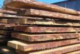 Softwood  Unedged Timber - Flitches - Boules - Siberian larch. Loseware (unedged boards, sorted and bundled)