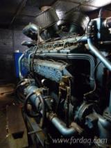 Vendo Impianti, Unità E Attrezzature Ausiliarie Per Cogenerazione Da Biomassa Leroy Somer UD150V12    800kVA Usato Francia