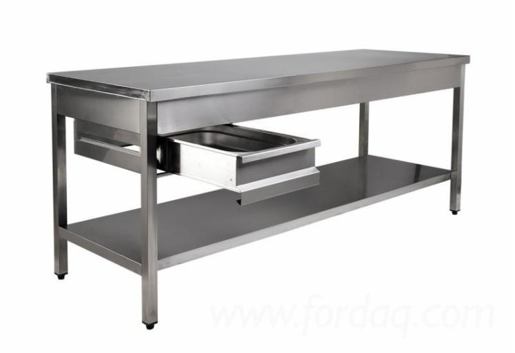 Venta Mesas De Cocina Diseño Otros Materiales Acero Inoxidable Ilfov ...