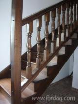 Stairs Finished Products - Oak (European) Stairs from Romania