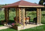 Garden Products Other Certification - WOODEN GARDEN PRODUCTS - GAZEBOS AND MORE