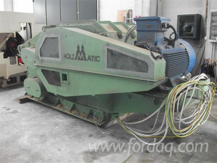 Holzmatic-chipping-plant