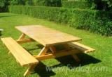 Garden Furniture - Traditional Fir (Abies Alba) Garden Sets Sibiu Romania