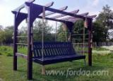 Fir (Abies alba, pectinata), Children Games - Swings