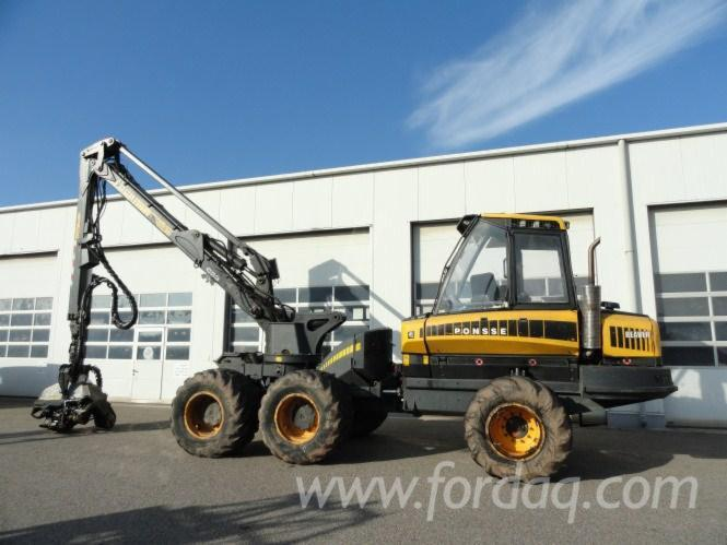 Used-2007---8000-h-Ponsse-Beaver-Harvester-in
