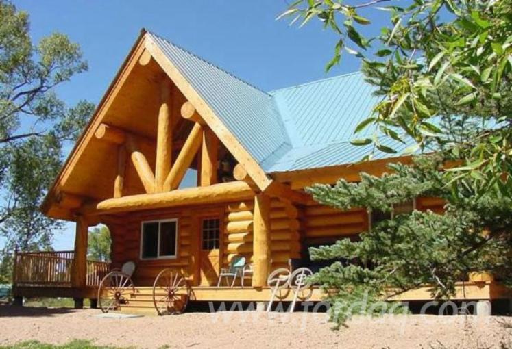 Casa di tronchi canadese abete legni bianchi for Casa in legno romania
