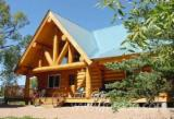 木屋- 预制框架 轉讓 - 加拿大圆木房屋, 云杉-白色木材