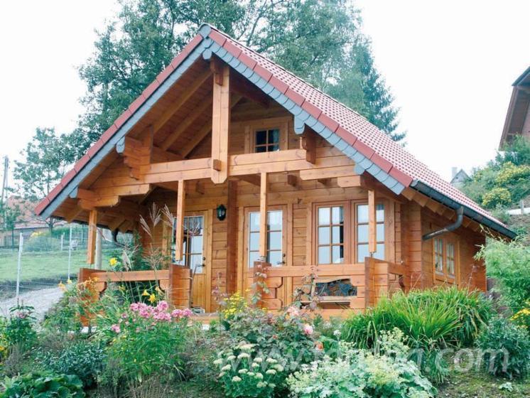 Casa di tronchi canadese abete legni bianchi for Case di tronchi ranch