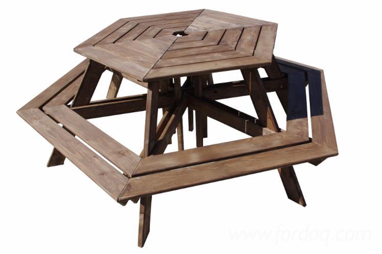 Garden-Benches--Traditional