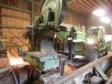 Sawmill machine installation. Second hand machine recondition