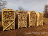 Cleaved Firewood - Beech, Fresh, on Pallets