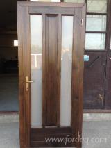 Négoce De Portes, Fenêtres Et Escaliers En Bois - Vend Portes Tilleul  ISO-9000