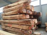 Laubholz  Blockware, Unbesäumtes Holz -  1 Ladung 35mm Eiche B ware gute Möbelqualität