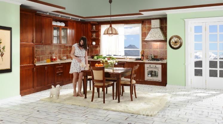 Vend ensemble de meubles de cuisine contemporain bois for Ensemble de cuisine en bois