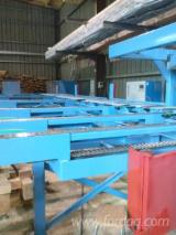 Holzbearbeitungsmaschinen Spanien - Gebraucht 2004 HUNDEGGER K2-5 Bearbeitungszentren zum Fräsen, Sägen, Bohren, Kantenanleimen, -nachbearbeiten in Spanien