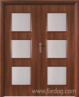 Furniture and doors of the laminate.