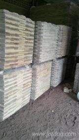Massivholzböden - Guatambù, Thermisch Behandelt - Thermoholz, Massivholzböden 4-seitig Gehobelte Lamellen