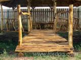 Buy Or Sell Wood Garden Bridge - Acacia, Garden Bridge