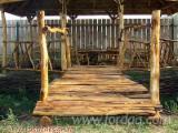 Kaufen Oder Verkaufen Holz Gartenbrücke - Robinie , Gartenbrücke