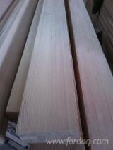 Glulam Beams And Panels - Siberian larch scantlings from China