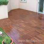 地板及户外板材 欧洲 - 橡木, 高温处理, 防滑地板(单面)