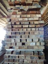 Hardwood  Sawn Timber - Lumber - Planed Timber -  About 27 m3 of Oak planks (80mm+) for furniture (tables) or carpentry