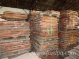 Exotic red wood for furniture or carpentry