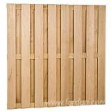 OAK - wooden fence panels, partition fence, noise backboard