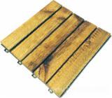 Tuinproducten FSC - Pine, Houten Tuintegels, FSC