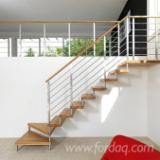 Hardwood (Temperate), Stairs, Oak (European), CE