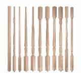 Solid Wood Components For Sale - Softwoods, Oak larch pine