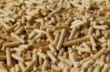 Wood biomass particles