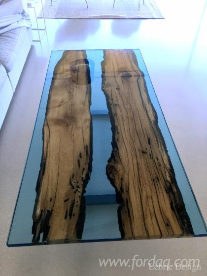 Resin-and-wood