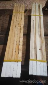 Cylindrical Trimmed Round Wood - Softwood / Acacia / Mahogany Stakes