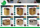 Casas De Madera-estructura De Madera Precortada Abeto Picea Abies - Madera Blanca - Cobertizos-Cabañas, Abeto (Picea abies) - Madera Blanca