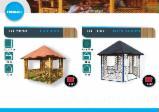 Baštenski Proizvodi Za Prodaju - Jela -Bjelo Drvo, Pergole - Rešetkaste Nadstrešnice