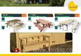 Vender Conjuntos Para Jardim Tradicional Madeira Macia Européia Abeto (Picea Abies) - Whitewood Roménia