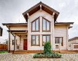Houses from glued laminated timber. Production, delivery to Europe, as