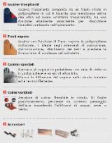 Italy Hardware And Accessories - Guaine e Freni Vapore Plastic, PVC, etc…