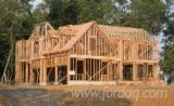 Casa cu schelet de lemn