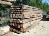 Sciages Et Bois Reconstitués - Vend Lamellé Collé - Poutres Droites Antico Trentino Sapin