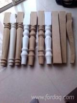Buy And Sell Solid Wood Components - Register For Free On Fordaq - Solid Wood Table Leg Furniture Leg Table Base