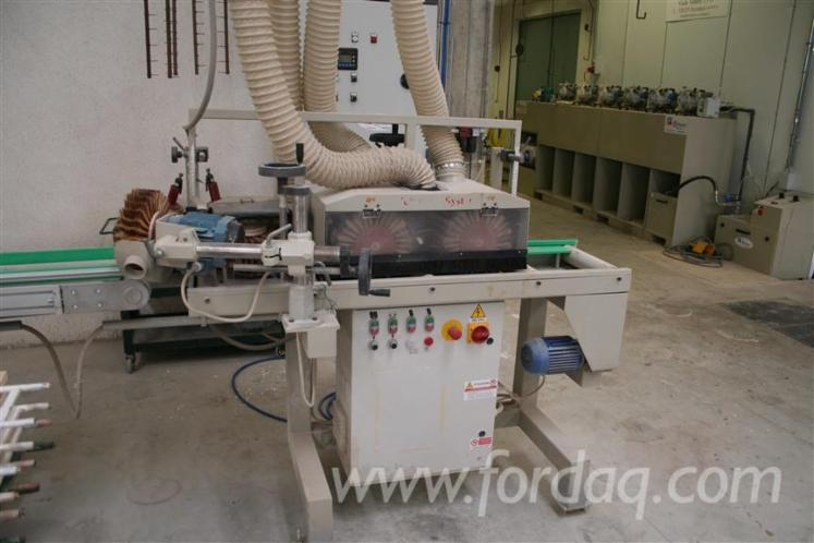 Sanding-varnishing-line