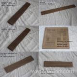 Böden und Terrassenholz - Teak