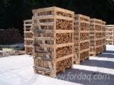 Firewood, Pellets And Residues - Oak Firewood Cleaved