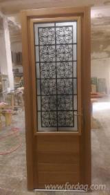 Drzwi, Okna, Schody Na Sprzedaż - Drewno Azjatyckie, Drzwi, Meranti, Dark Red