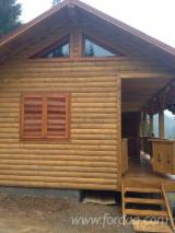 Timber Framed House, Spruce (Picea abies) - Whitewood